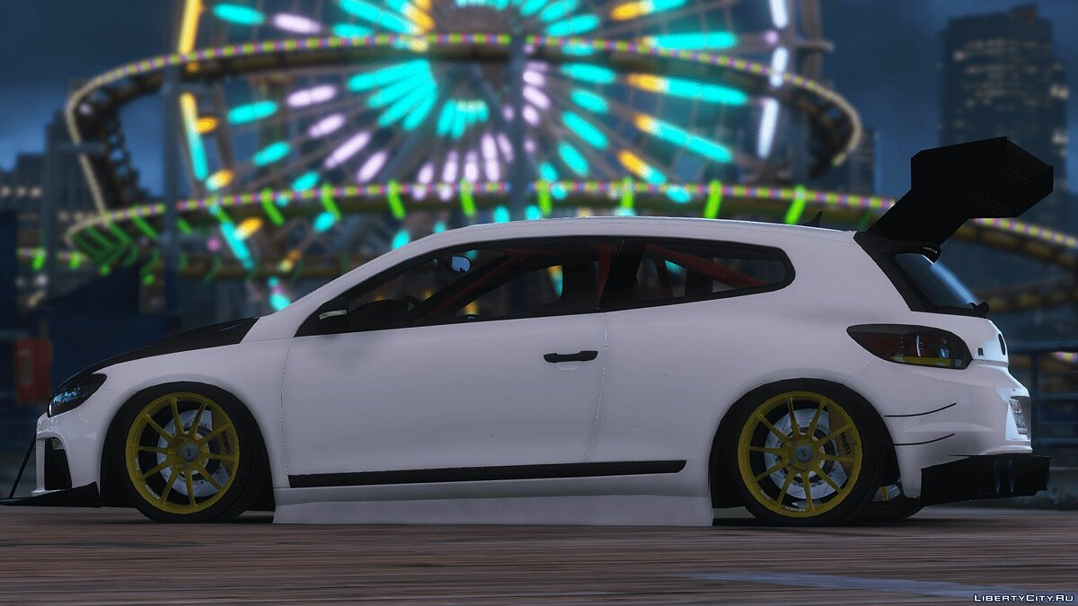 2010 Volkswagen Scirocco Modify [Add-On | Template | Tuning] 1.4 для GTA 5 - скриншот #3