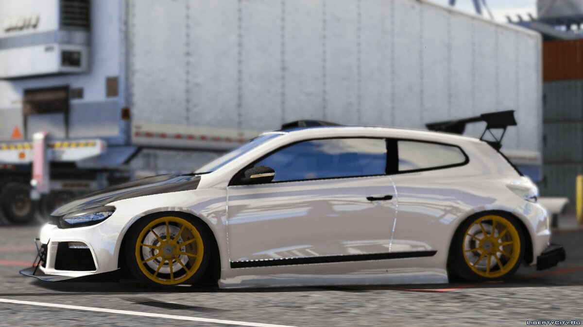 2010 Volkswagen Scirocco Modify [Add-On | Template | Tuning] 1.4 для GTA 5 - скриншот #4
