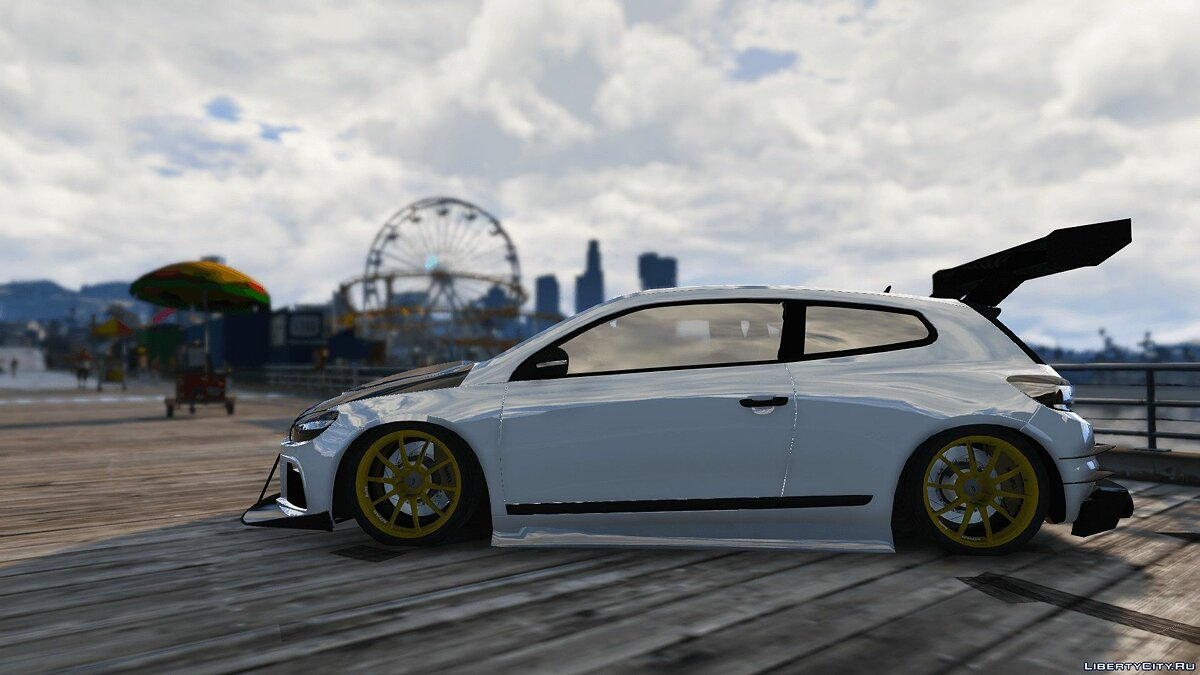 2010 Volkswagen Scirocco Modify [Add-On | Template | Tuning] 1.4 для GTA 5 - скриншот #6