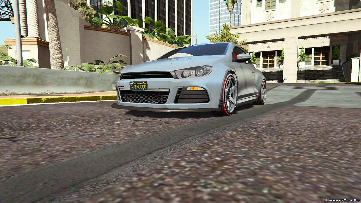 Volkswagen Scirocco [Add-On] 1.0 для GTA 5