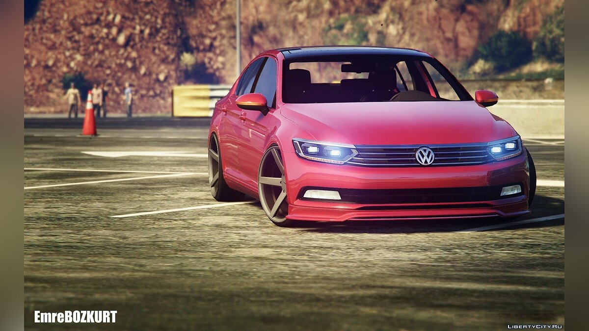 2016 Volkswagen Passat B8 [Add-On / Replace] 1.0 для GTA 5