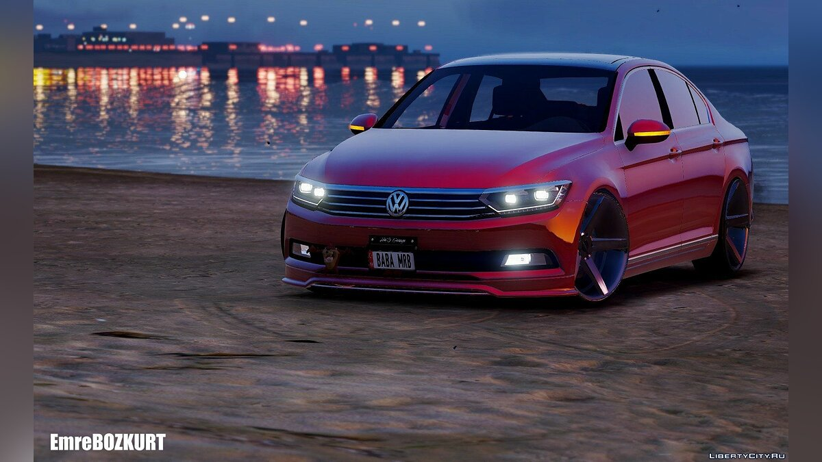 2016 Volkswagen Passat B8 [Add-On / Replace] 1.0 для GTA 5 - скриншот #3
