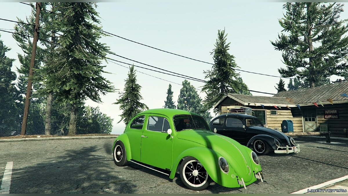 1963 Volkswagen Beetle (Cal Look) [BETA] для GTA 5