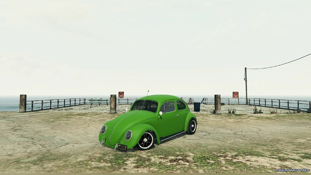 1963 Volkswagen Beetle (Cal Look) [BETA] для GTA 5 - скриншот #2
