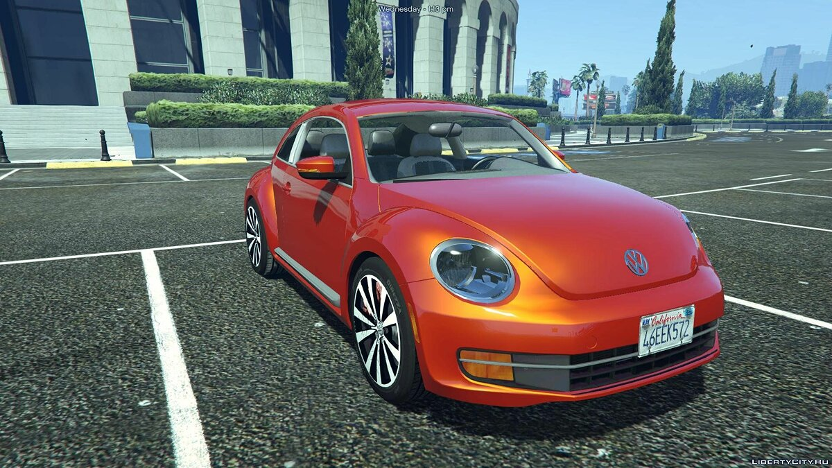 Volkswagen Beetle 2013 [Add-On / Replace] 1.1 для GTA 5 - скриншот #2