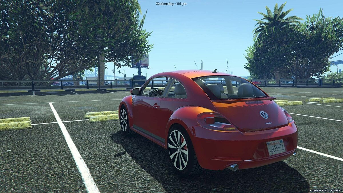Volkswagen Beetle 2013 [Add-On / Replace] 1.1 для GTA 5 - скриншот #4