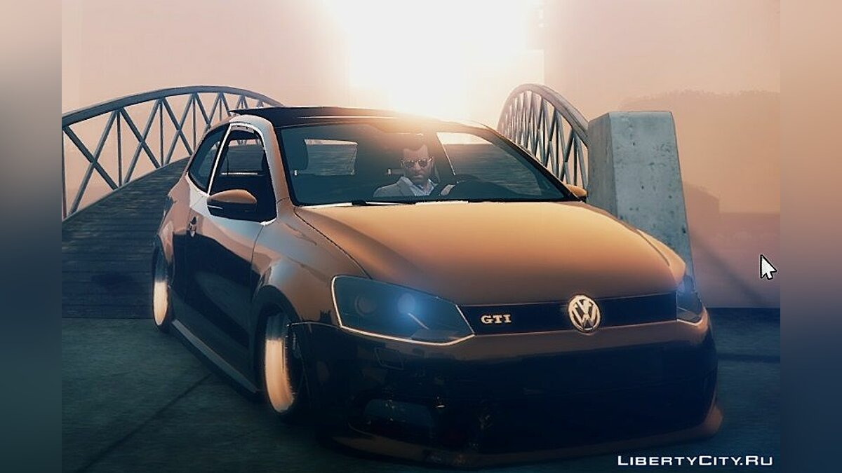 ��ашина Volkswagen Volkswagen Polo GTI 2011 [Add-On / Replace | Stanced] 1.0 для GTA 5