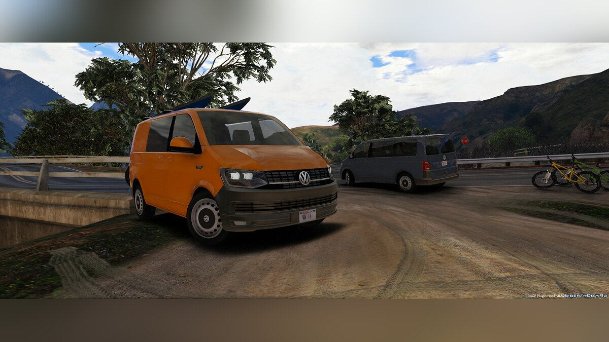 Volkswagen t6 with extra's 0.1 для GTA 5 - скриншот #2