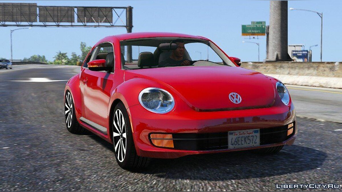 Машина Volkswagen Volkswagen Beetle 2013 [Add-On / Replace] 1.2 для GTA 5