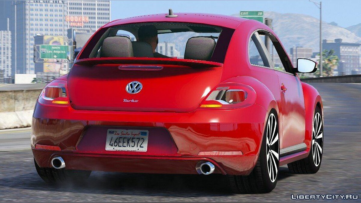 ��ашина Volkswagen Volkswagen Beetle 2013 [Add-On / Replace] 1.2 для GTA 5