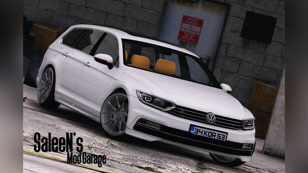 2016 Volkswagen Passat Variant R Line [Add-On / Replace] 1.2 для GTA 5 - скриншот #3