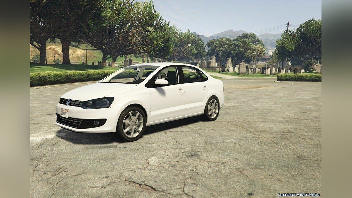 Volkswagen Polo Sedan [Tuning] 1.1 для GTA 5