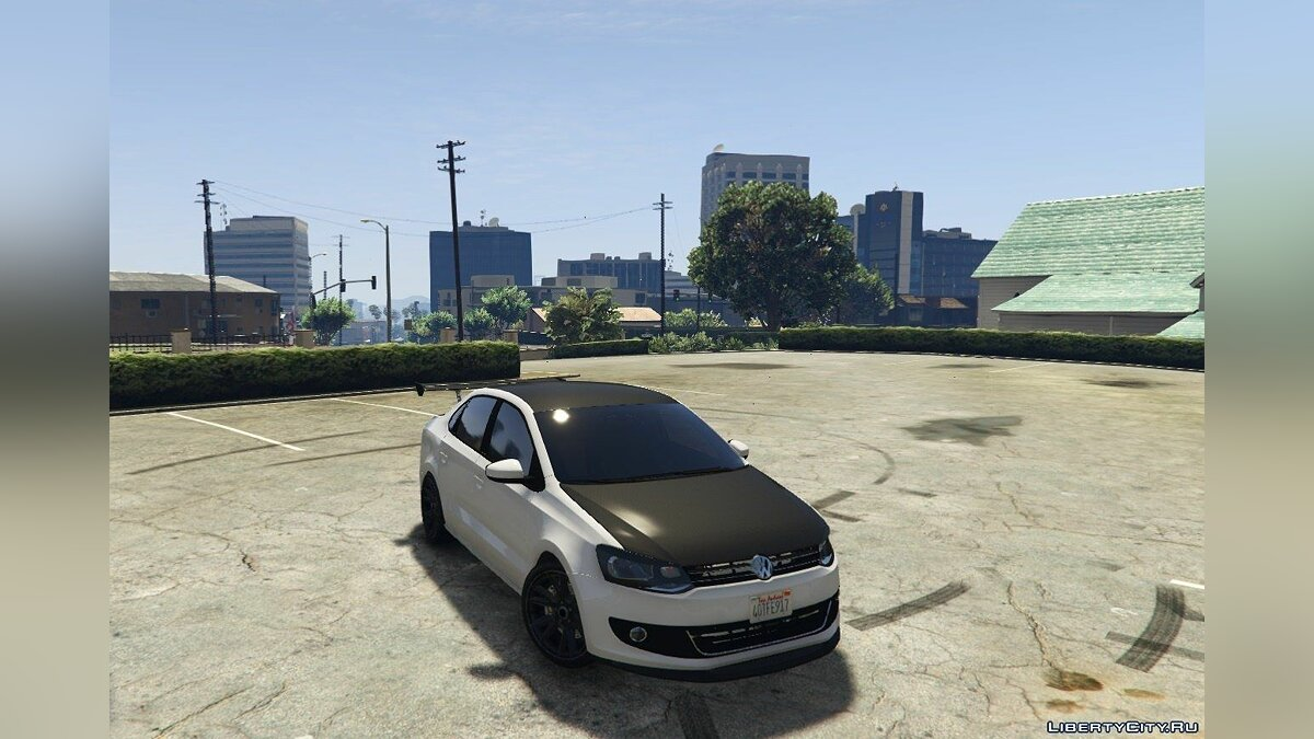 Volkswagen Polo Sedan [Tuning] 1.1 для GTA 5 - скриншот #4