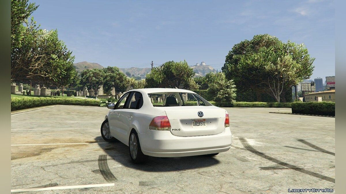 Volkswagen Polo Sedan [Tuning] 1.1 для GTA 5 - скриншот #2
