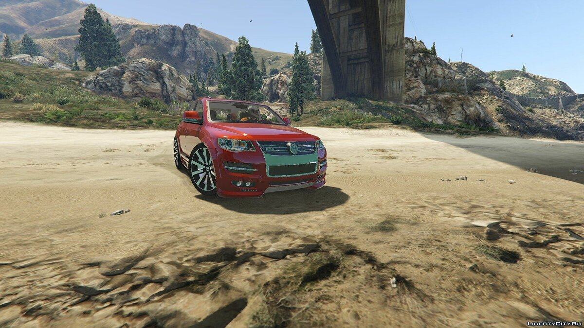 Volkswagen Touareg 2008 R50 [Add-On / Replace | Tunable] 1.0 для GTA 5