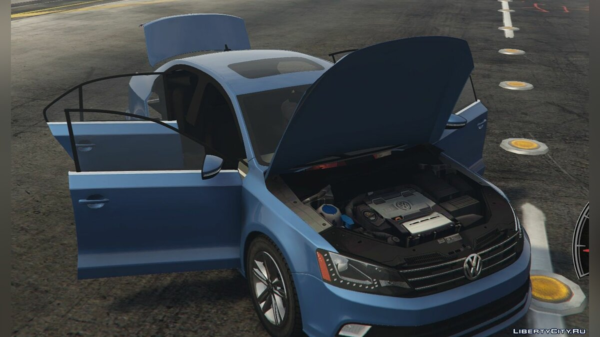 Машина Volkswagen 2015 Volkswagen Jetta 1.8T SEL (Add-On/Replace) 1.0 для GTA 5
