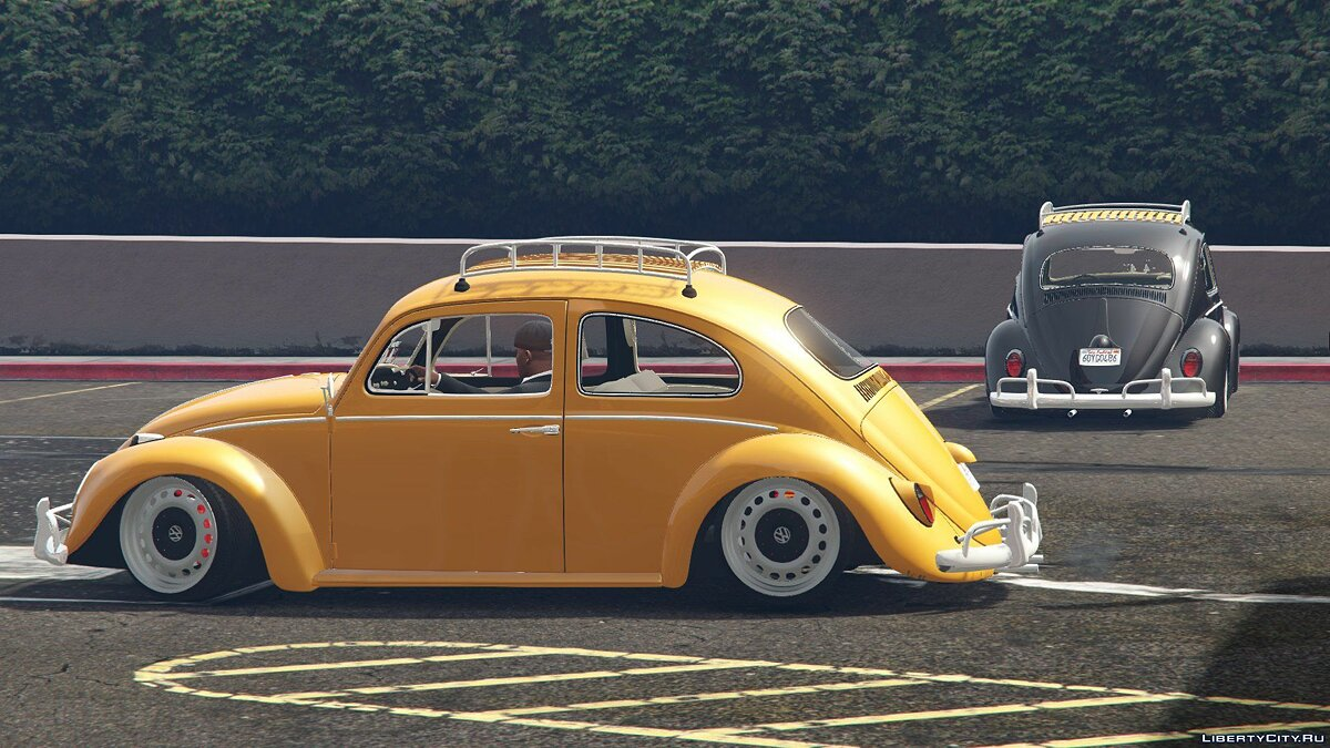 1968 Volkswagen Fusca [Add-On / Replace] 1.0 для GTA 5 - скриншот #3