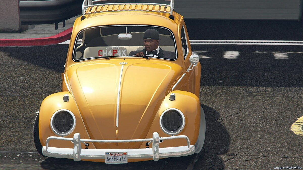 1968 Volkswagen Fusca [Add-On / Replace] 1.0 для GTA 5 - скриншот #4