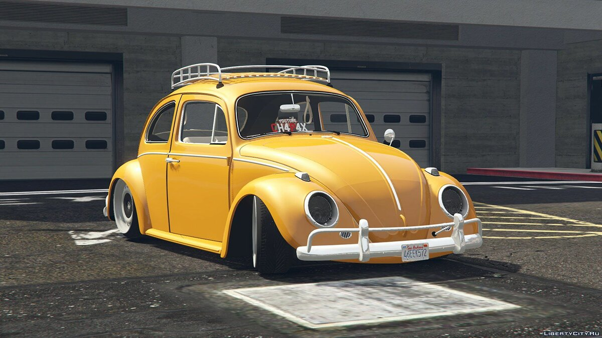 1968 Volkswagen Fusca [Add-On / Replace] 1.0 для GTA 5 - скриншот #2