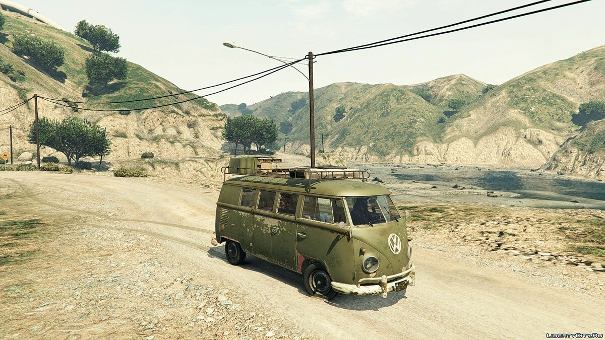 1960 Volkswagen Bus (Rat) 1.1 для GTA 5