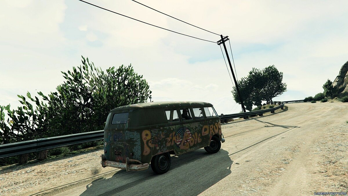 1960 Volkswagen Bus (Rat) 1.1 для GTA 5 - скриншот #5