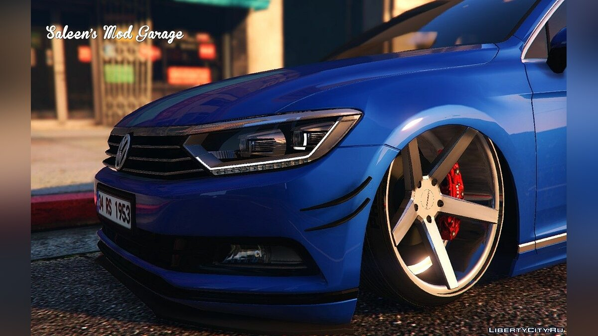 2016 Volkswagen Passat Highline Stanced B8 [Add-On / Replace] для GTA 5 - скриншот #2