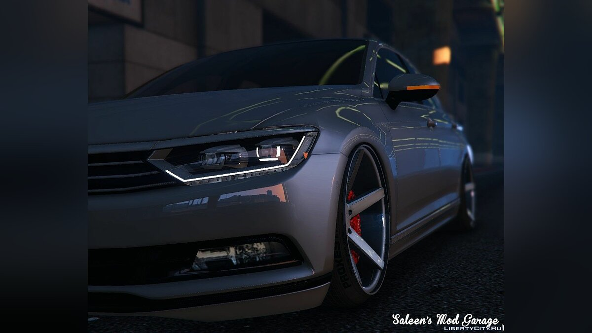 2016 Volkswagen Passat Highline Stanced B8 [Add-On / Replace] для GTA 5