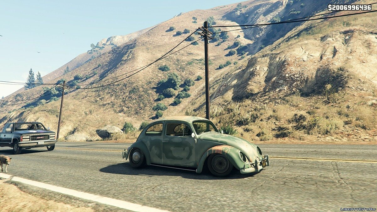 1963 Volkswagen Beetle Rat [BETA 1] для GTA 5
