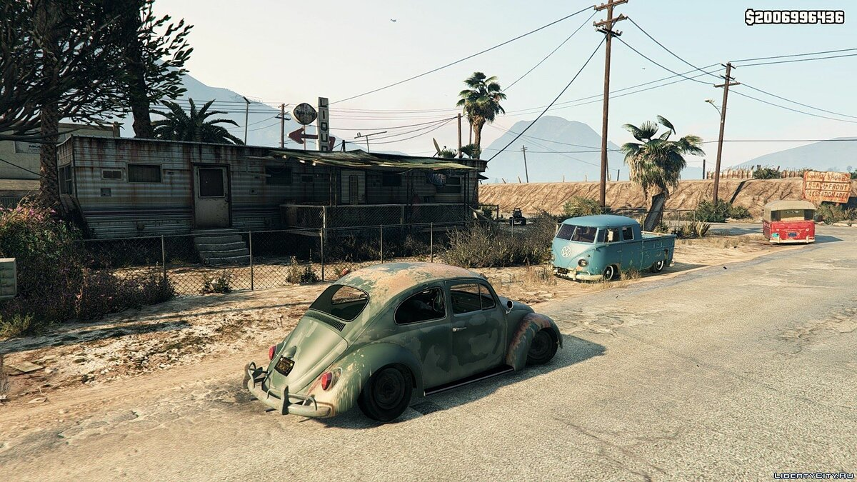 1963 Volkswagen Beetle Rat [BETA 1] для GTA 5 - скриншот #5
