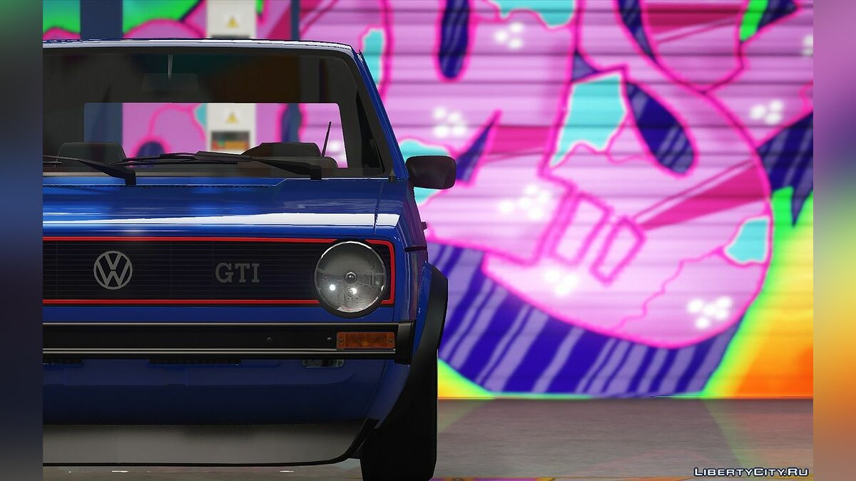 Volkswagen Golf Mk1 VR6 [Add-On / Replace] 1.3 для GTA 5