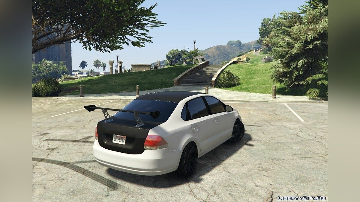 Volkswagen Polo Sedan [Tuning] 1.0 для GTA 5 - Картинка #3