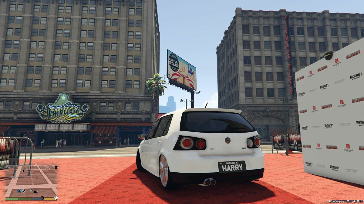 Volkswagen Golf Sportline Limited Edition 2014 [Replace] 1.0 для GTA 5 - скриншот #2