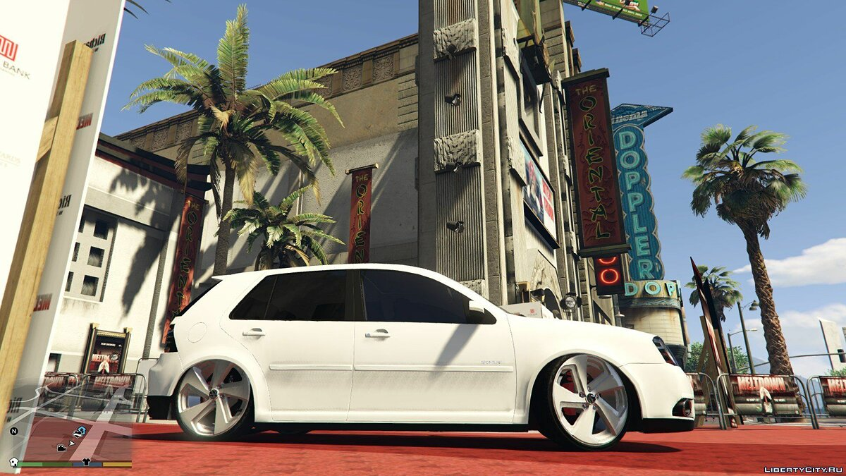 Volkswagen Golf Sportline Limited Edition 2014 [Replace] 1.0 для GTA 5 - скриншот #3