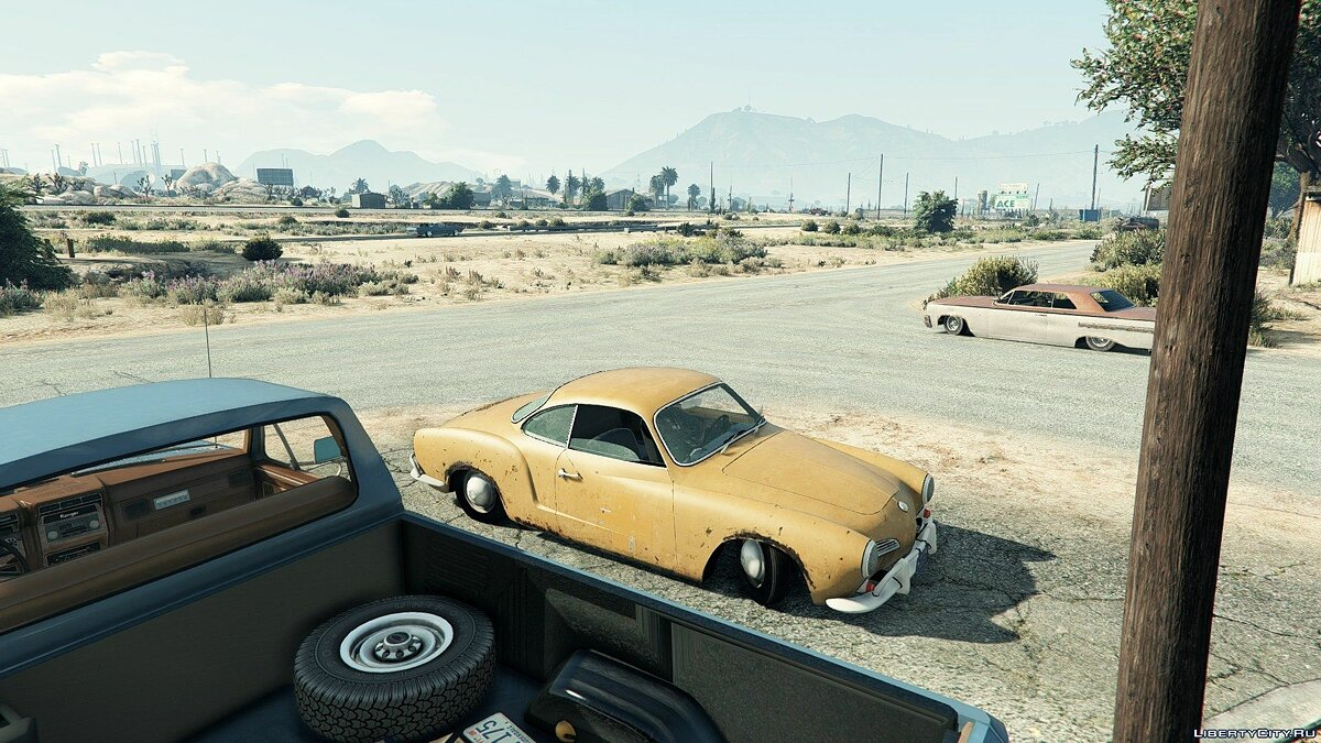 1967 Volkswagen Karmann Ghia Rat [BETA] для GTA 5 - скриншот #3