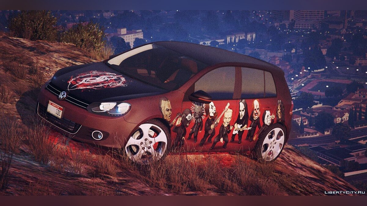 Volkswagen Golf Mk 6 (with Livery Support) v2 для GTA 5 - Картинка #1