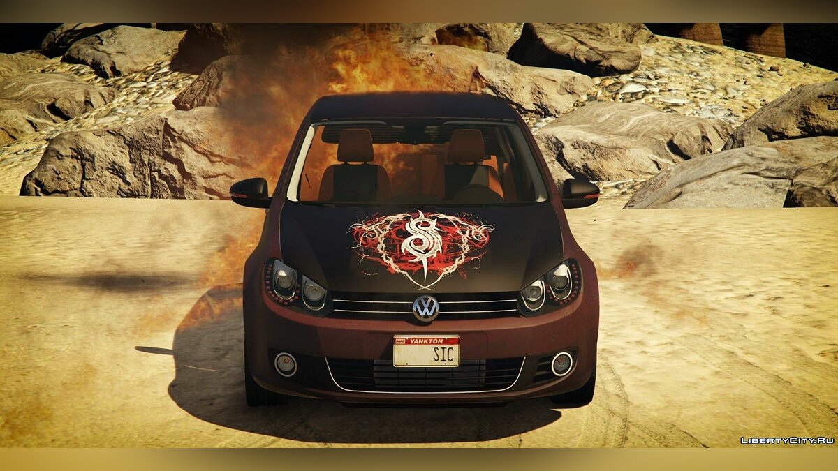 Volkswagen Golf Mk 6 (with Livery Support) v2 для GTA 5 - Картинка #2