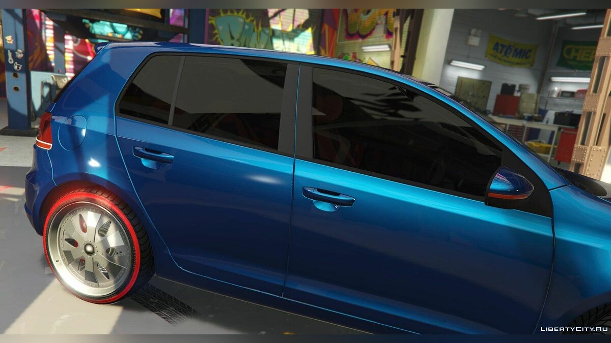 Volkswagen Golf Mk 6 (with Livery Support) v2 для GTA 5 - Картинка #4