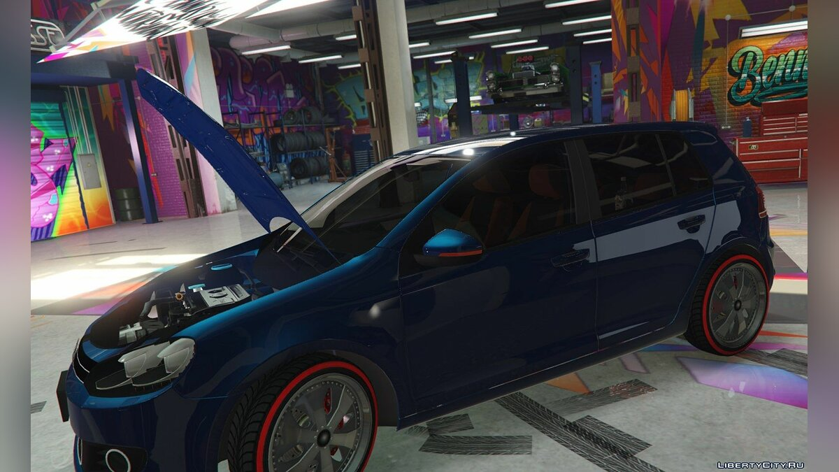 Volkswagen Golf Mk 6 (with Livery Support) v2 для GTA 5 - Картинка #7