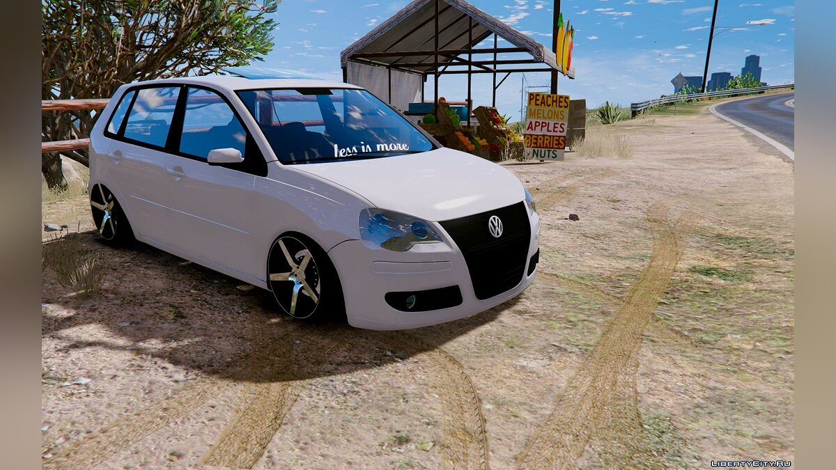 Volkswagen Polo Less Is More [Replace] 1.0 для GTA 5