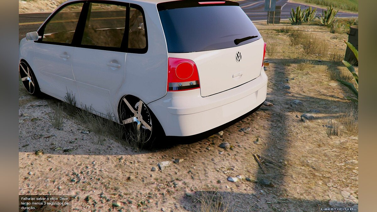 Volkswagen Polo Less Is More [Replace] 1.0 для GTA 5 - скриншот #2