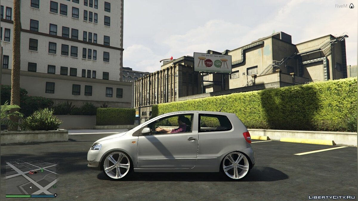 Машина Volkswagen Volkswagen Fox 1.6 FINAL для GTA 5