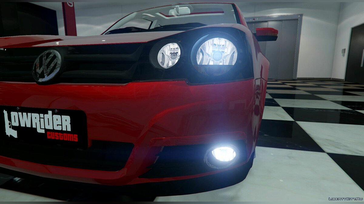 Машина Volkswagen Vw Golf Sportline Aro 20 ( Replace ) 1.0 для GTA 5