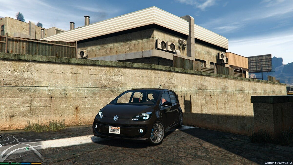 2016 Volkswagen Up! для GTA 5 - скриншот #4