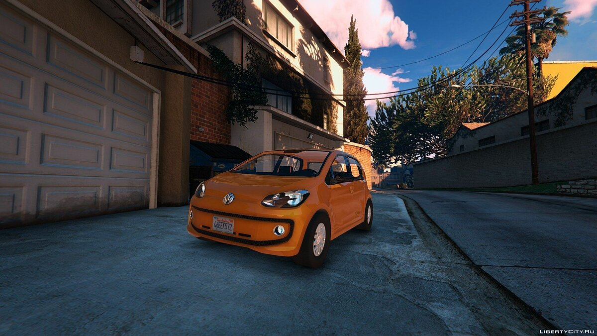 2016 Volkswagen Up! для GTA 5 - скриншот #3