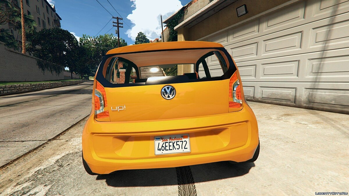 2016 Volkswagen Up! для GTA 5 - скриншот #5