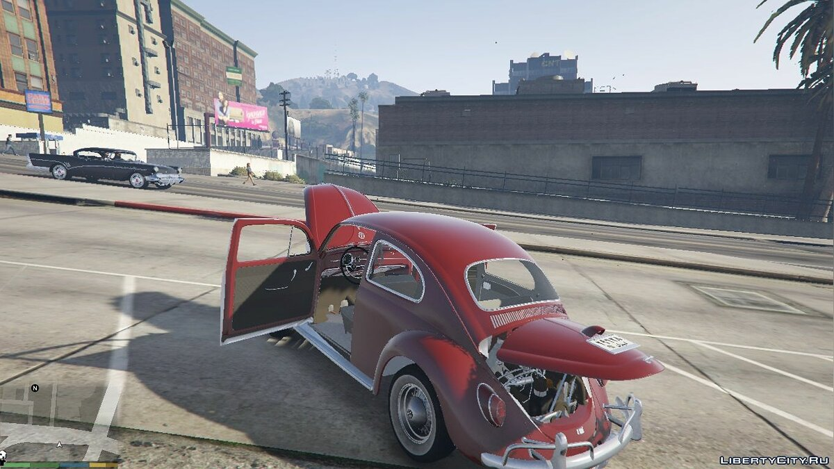 1963 Volkswagen Beetle [Add On / Replace] 2.0.0 для GTA 5 - скриншот #3