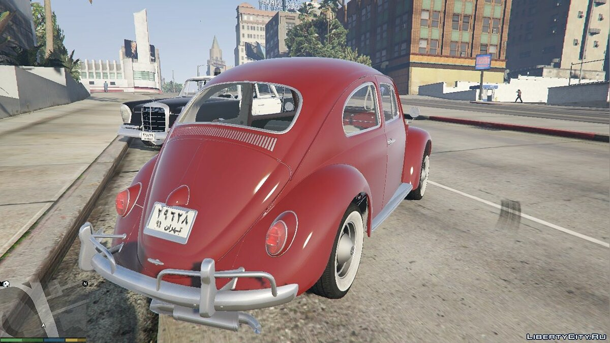 1963 Volkswagen Beetle [Add On / Replace] 2.0.0 для GTA 5 - скриншот #4