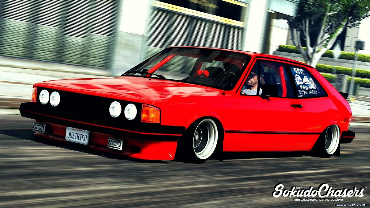 ��ашина Volkswagen Volkswagen Scirocco Mk1 Vr6 [Add-On / Replace] V2 для GTA 5