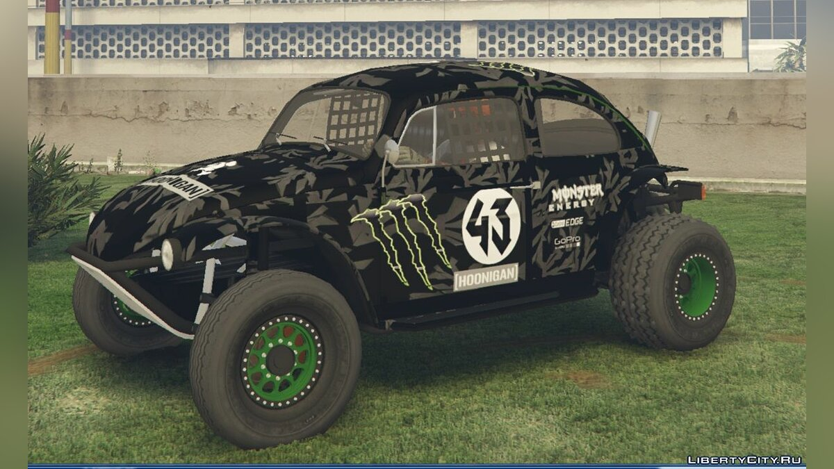 Volkswagen Beetle Baja Bug [Add-On] 0.2 для GTA 5