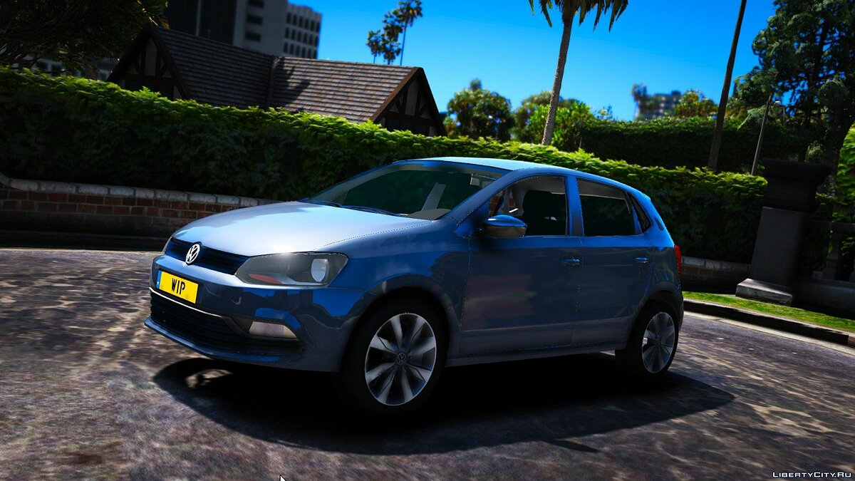 Volkswagen Polo [Stock Version] 1.0 для GTA 5